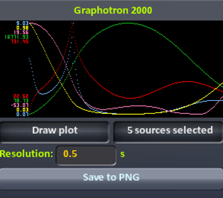 Graphotron screenshot
